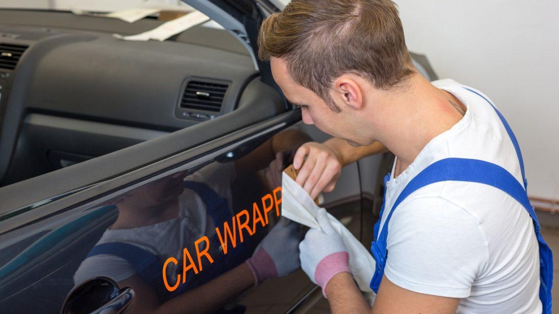 Обертывание автомобилей пленкой – эффективная реклама